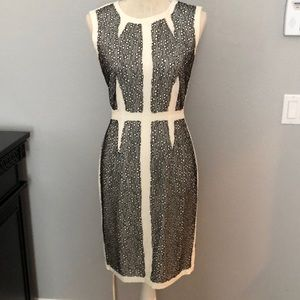 NEVER BEEN WORN! Lace over-lay work to party dress